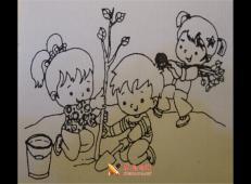 植树节儿童画图片 (63).jpg