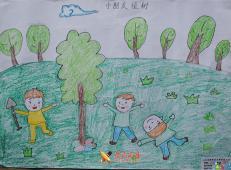 植树节儿童画图片 (26).jpg