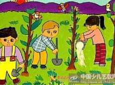植树节儿童画图片 (56).jpg