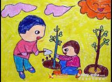 植树节儿童画图片 (16).jpg