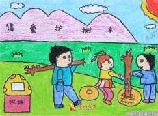 植树节儿童画图片 (58).jpg