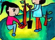 植树节儿童画图片 (1).jpg