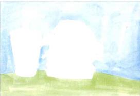 学画画汉堡包儿童画