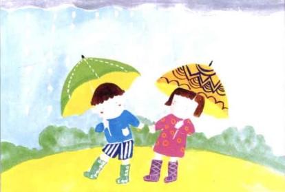 学画画教程-下雨了