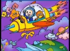 儿童学画画第88课_《宇宙飞船儿童画》