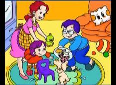 儿童学画画第89课_《幸福的家庭儿童画》