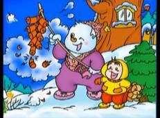 儿童学画画第91课_《冬天的儿童画》
