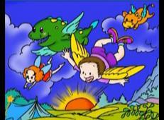 儿童学画画第92课_《儿童画我的梦想》