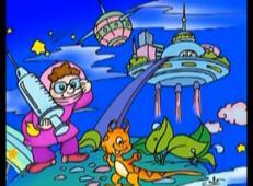 未来世界儿童画_儿童学画画第93课