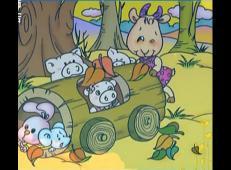儿童学画画第98课_《动物儿童画》