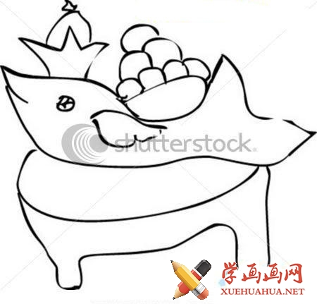 鱼的简笔画图片(2)
