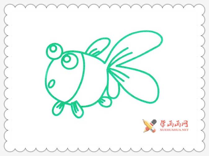 金鱼简笔画(1)