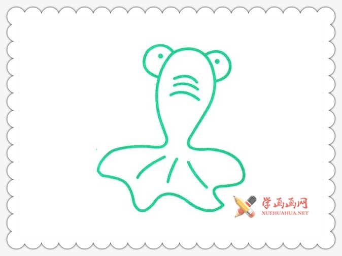 金鱼简笔画(5)