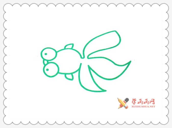 金鱼简笔画(9)