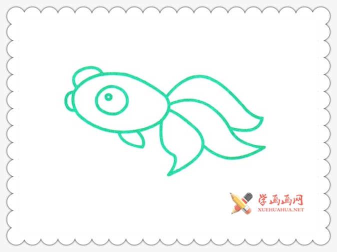 金鱼简笔画(11)
