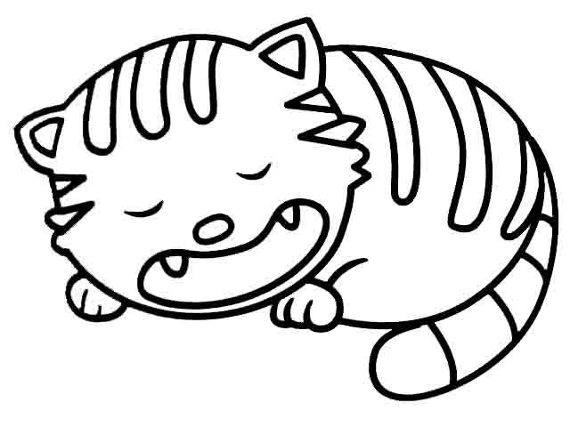 小猫简笔画(1)