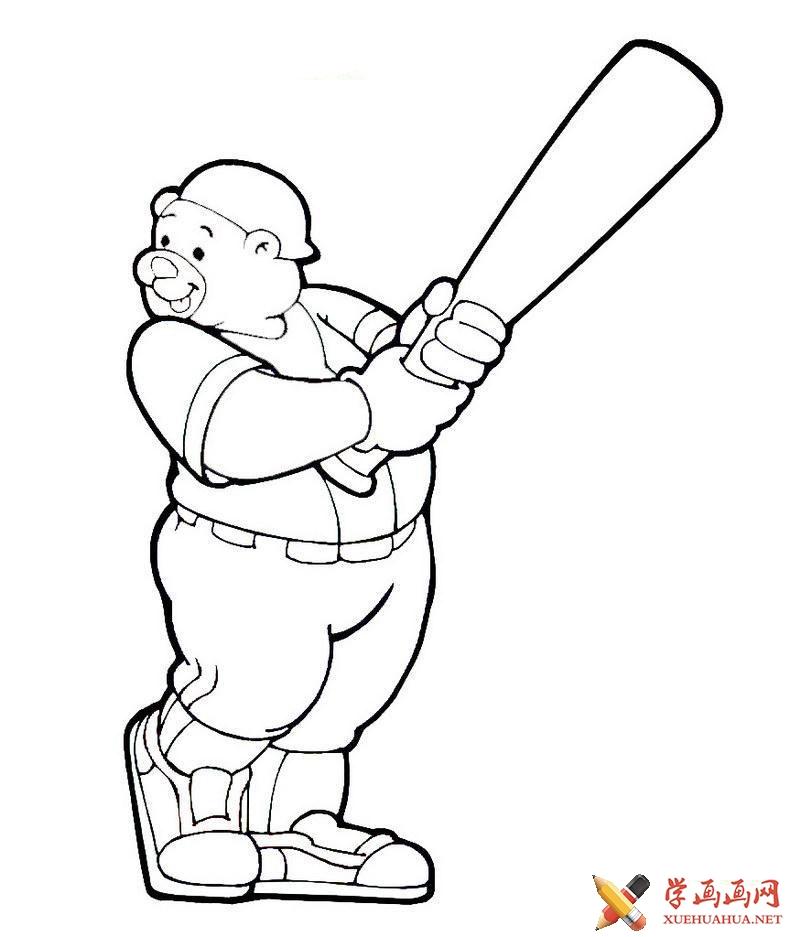 关于熊的简笔画图片(1)