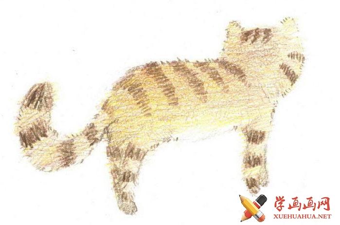 猫咪简笔画(2)