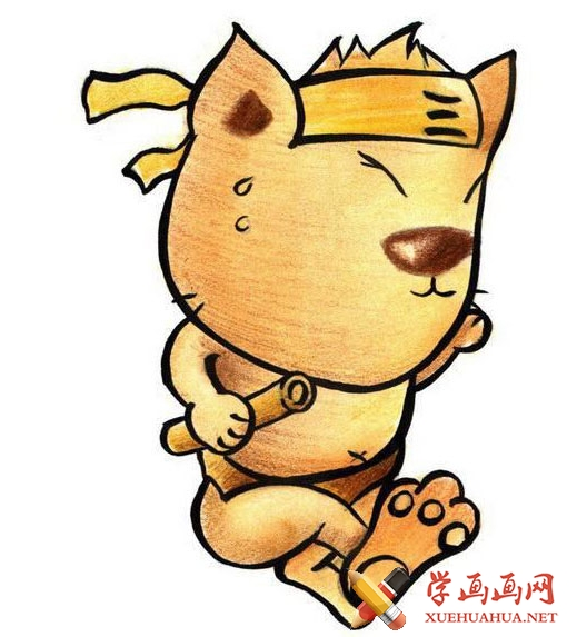 猫咪简笔画(8)