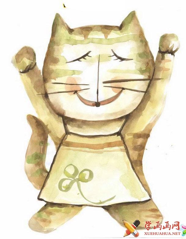 猫咪简笔画(1)