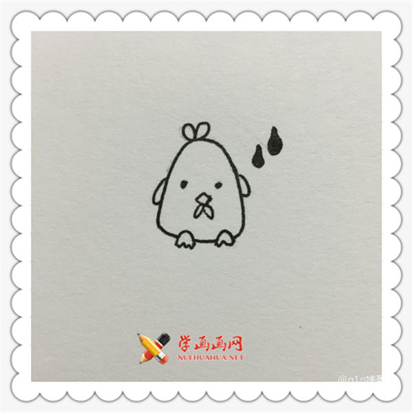 可爱小动物简笔画图片