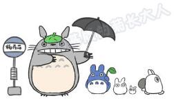 怎么画龙猫简笔画?