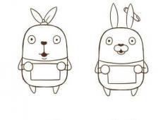 越狱兔的简笔画画法教程【彩色】