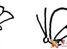 儿童学画画_怎么画蝴蝶