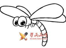 蜻蜓的简笔画画法大全
