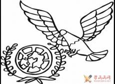 儿童画和平鸽