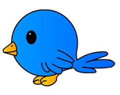 如何画一只可爱的卡通简笔画小鸟