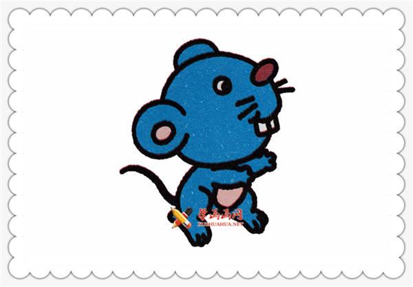简笔画卡通小老鼠的画法