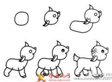 动物简笔画的画法大全
