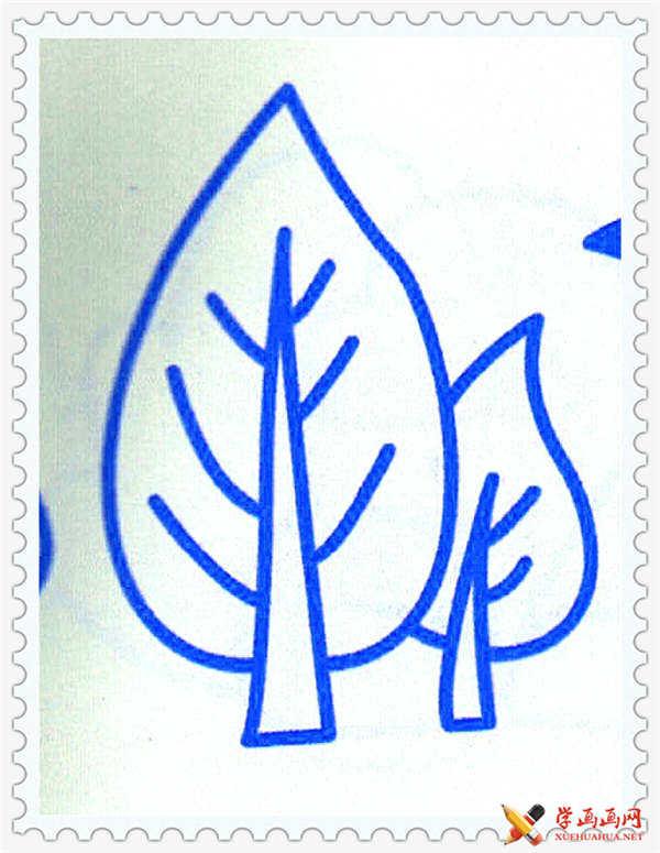 大树简笔画图片(1)