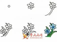 9种植物简笔画画法教程详解【彩色】