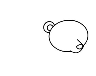 棕熊简笔画图片(5)