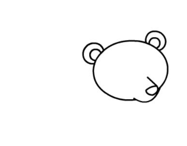 棕熊简笔画图片(6)
