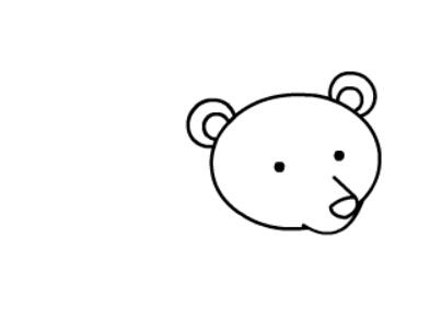 棕熊简笔画图片(7)