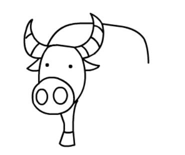 牛简笔画图片(9)