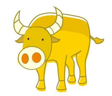 牛简笔画图片(14)