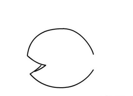 鱼儿吐泡泡简笔画图片(3)