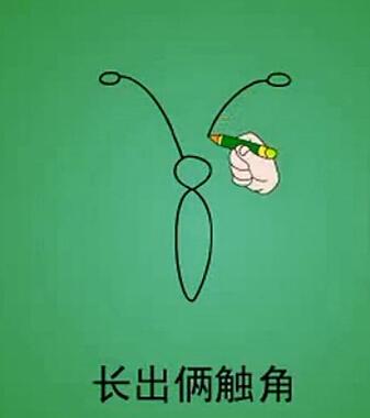 蝴蝶简笔图片(3)