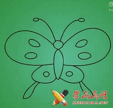 蝴蝶简笔图片(5)
