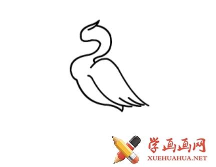 鹤的简笔画(5)