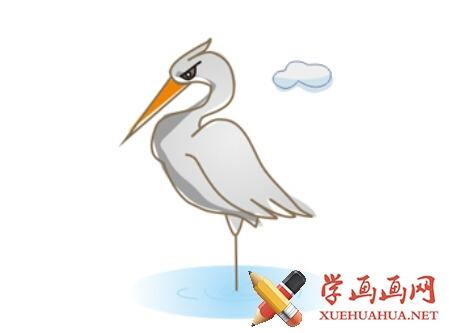 鹤的简笔画(9)