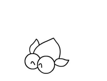 宝宝学画画,金鱼的简笔画教程【动画步骤】