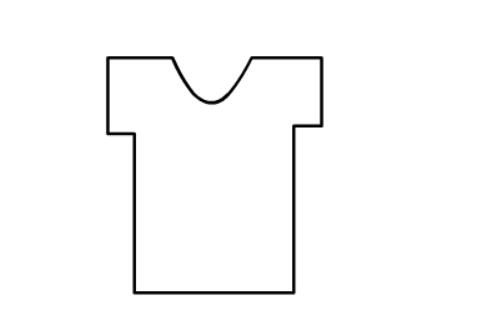 简笔画t袖的画法,儿童简笔画t袖