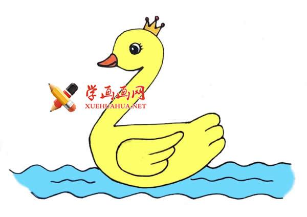 手把手的教你画鸭子的简笔画