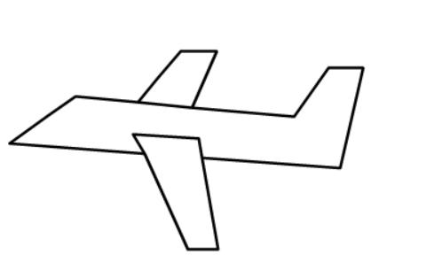儿童简笔画飞机画法__其它教程