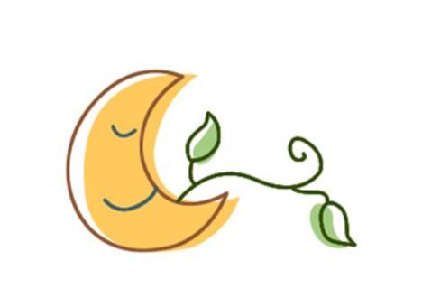 简单的月亮一笔画,儿童简笔画月亮